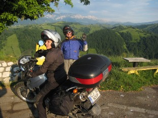 Motorcycle tourism from Spain