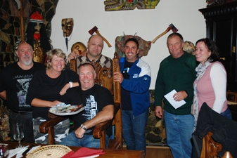 Motorcycles Tours in Eastern Europe - Dracula themend dinner at the castle