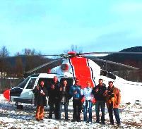 Helicopter incentiv gateaway in Transylvania